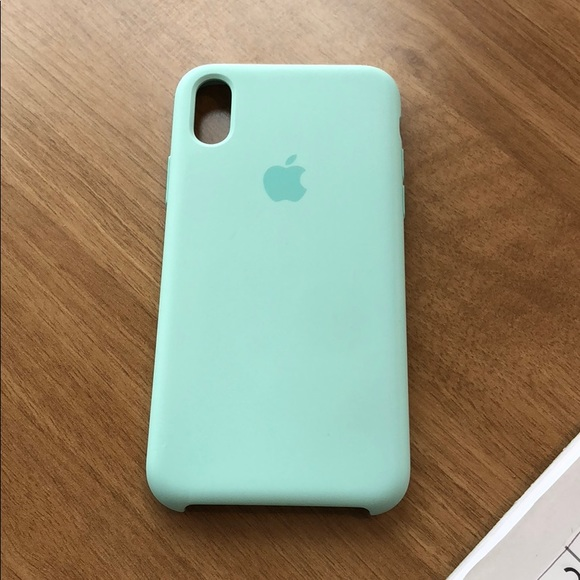 huge discount 20526 00ece iPhone X Apple Silicone Case in Tiffany Blue